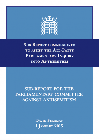 Sub-Report on Antisemitism for the Parliamentary Committee Against Antisemitism